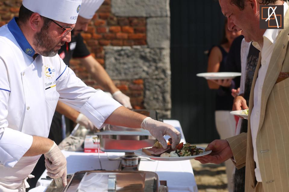 première garden party gourmande de Euro-Toques
